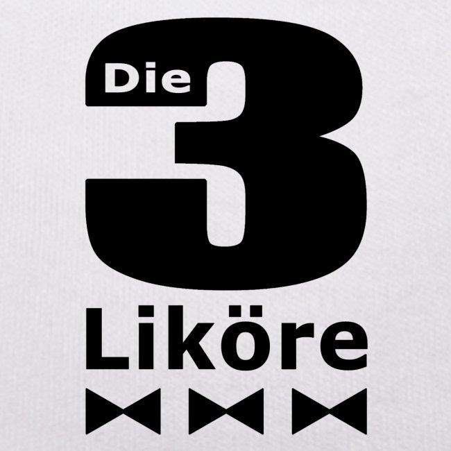 """""""Die 3 Liköre"""" - Kids logo schwarz"""