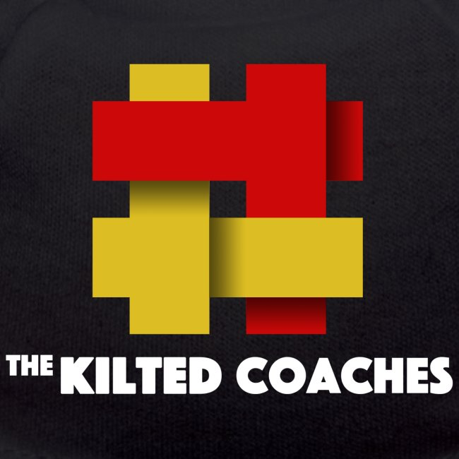 Kilted Coaches with white writing