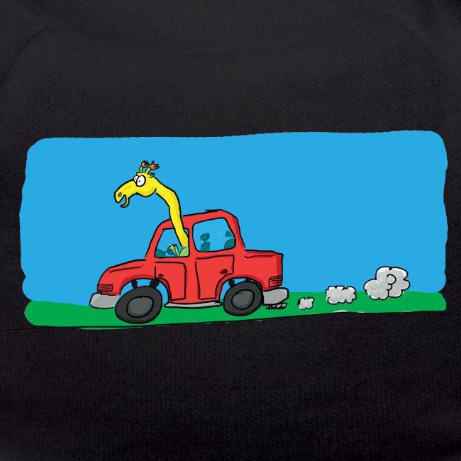 La girafe conductrice