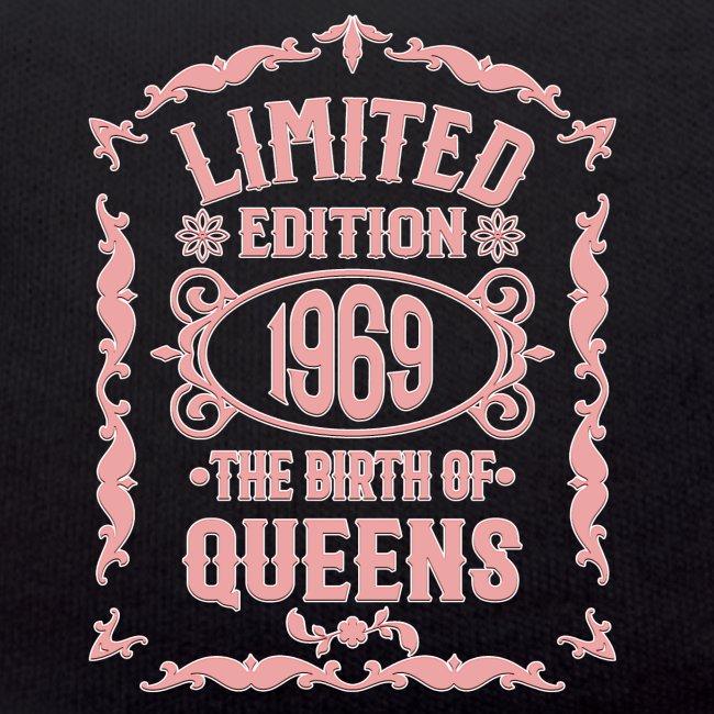 Geburtstag Geschenk schwarz Special Edition 1969 Grillschürze Kochschürze 50