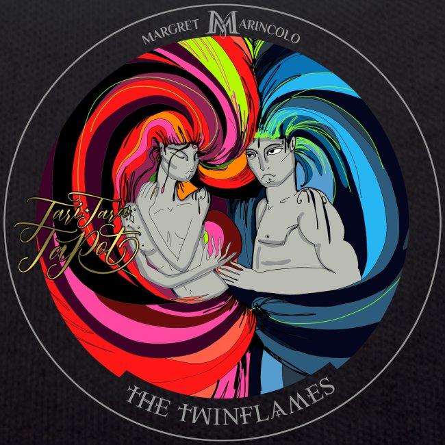 The Twinflames | Zwillingsflammen Tarot Karte