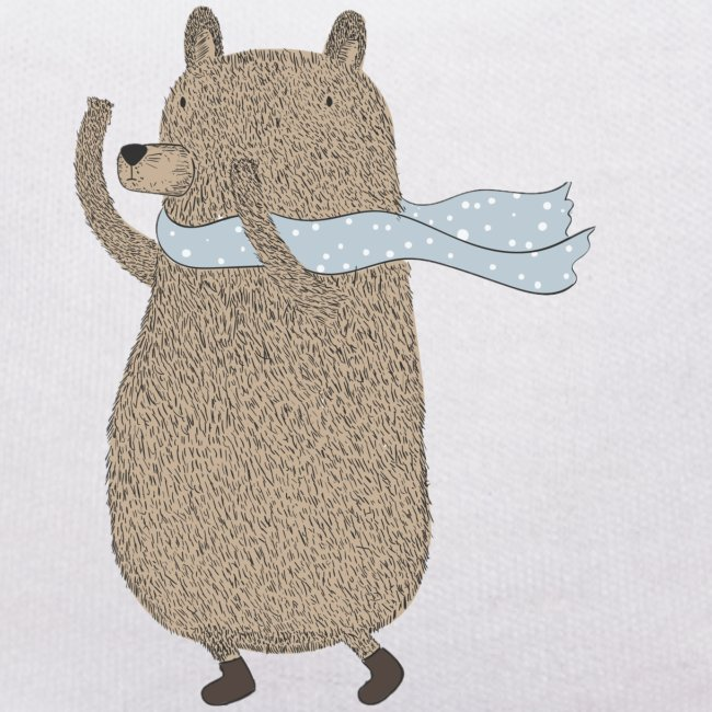 Fluffy Cuddle Bear by #OneCreativeArts
