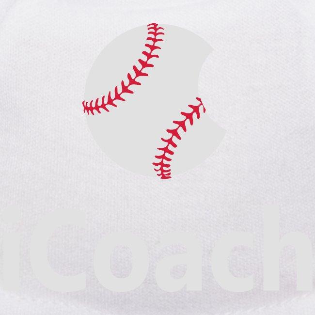 "Baseball Logo ""iCoach"""