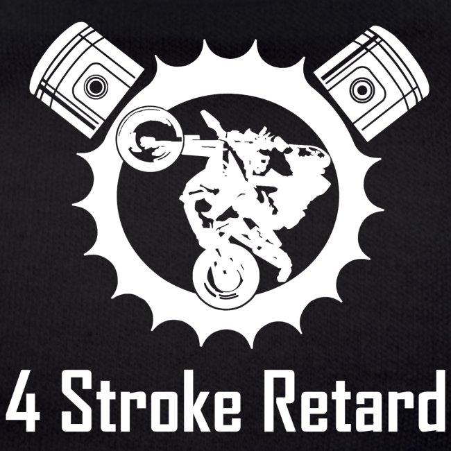 4 stroke retard logo FÜR HOODIE vorne png