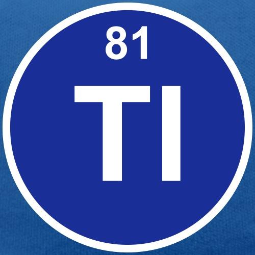 Thallium (Tl) (element 81) - Teddy Bear