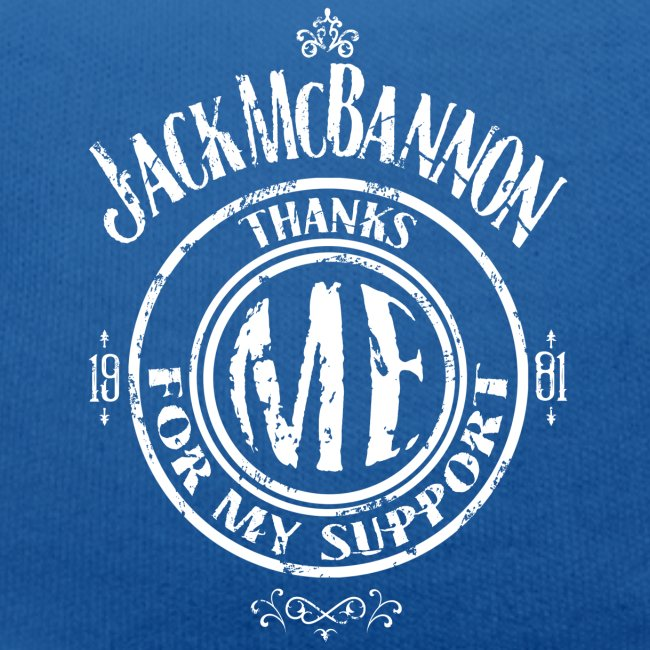Jack McBannon Thanks Me For My Support