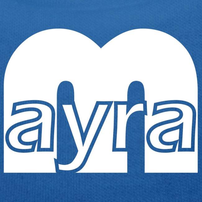 Mayra Logo 2 weiß