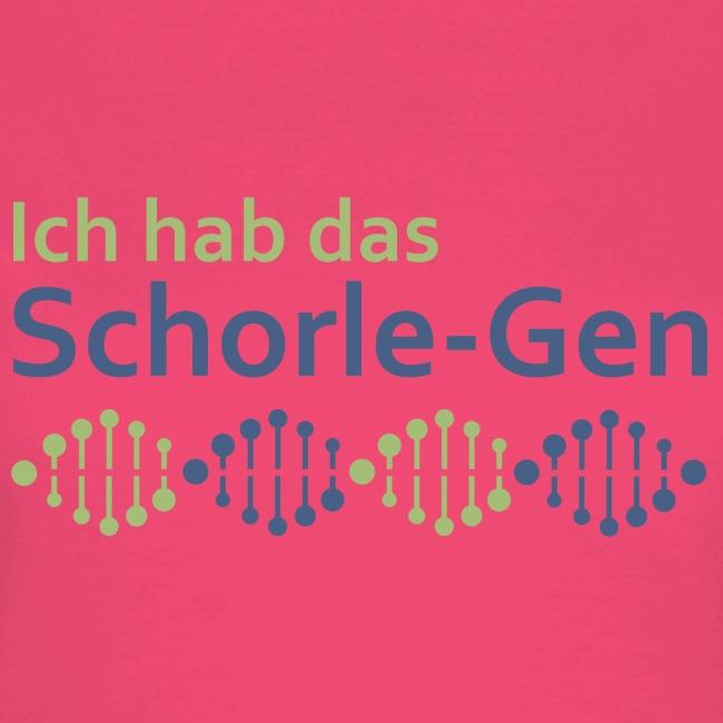 Ich hab das Schorle-Gen