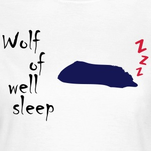 Wolf of (wall st) well sleep - Frauen T-Shirt