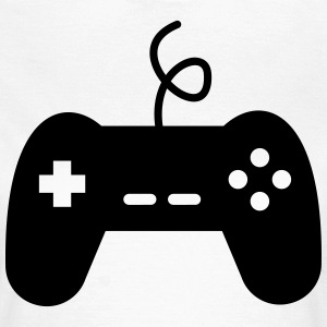 game console joystick geek video gamer - Vrouwen T-shirt