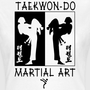Taekwondo Martial Art for Girls - T-skjorte for kvinner