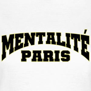 PARIS MENTALITET - T-shirt dam