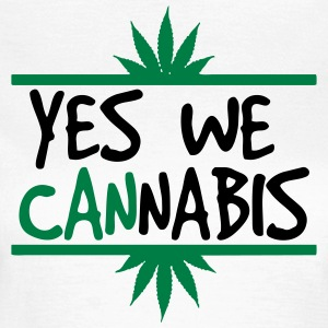 cannabis - Dame-T-shirt