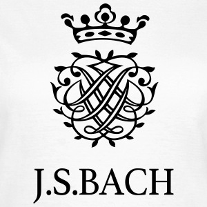 J S Bach and his Seal - Women's T-Shirt