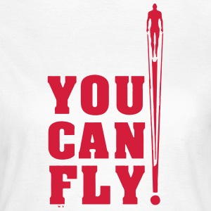 you can fly héroe RED - Camiseta mujer
