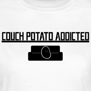 Couch-Potato Addicted - Maglietta da donna