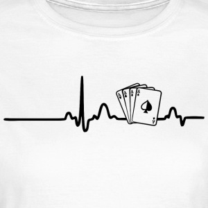 ECG POKER PLAYER black - Women's T-Shirt