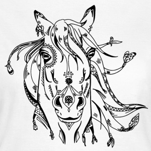 Decorated horse head - Women's T-Shirt