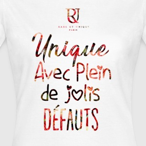Design Unique R&U™ Paris - T-shirt Femme