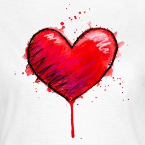 Messy Heart - Women's T-Shirt