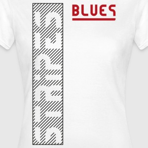Blues Stripes - Women's T-Shirt