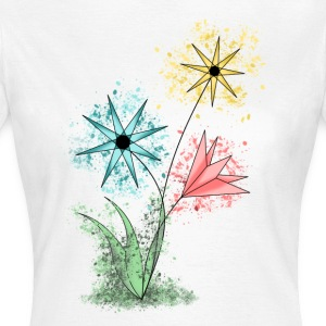 Flowers - Women's T-Shirt
