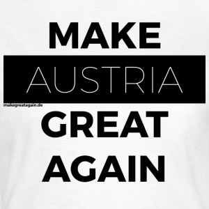 MAKE AUSTRIA GREAT AGAIN black - Women's T-Shirt