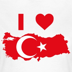 I LOVE TURKEY - Vrouwen T-shirt