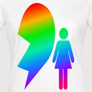 Her Left Side - Women's T-Shirt