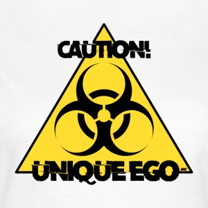 Varning! Unik Ego - The Biohazard Edition - T-shirt dam