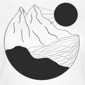Mountain Water - Vrouwen T-shirt