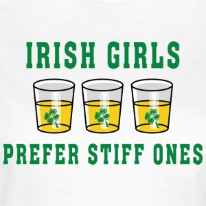 Irish Girls Foretrekker Stiff Ones - T-skjorte for kvinner