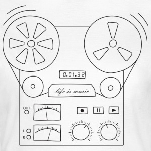 magnetic tape recorder - Women's T-Shirt