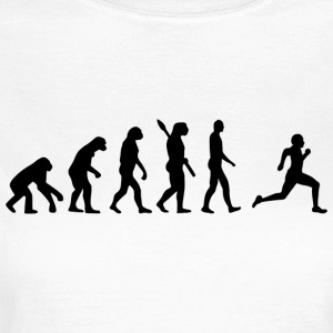Evolution Run løbere runner jogging b - Dame-T-shirt