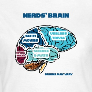 Nerd / Nerds: Nerd's Brain - Women's T-Shirt