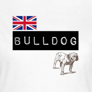 British Bulldog - T-shirt dam