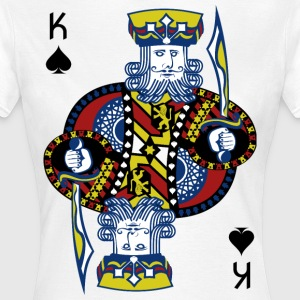 King of Spades Poker Hold'em - Women's T-Shirt