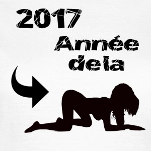 2017 års doggy! - T-shirt dam