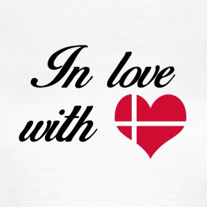 In love with Denmark - Frauen T-Shirt