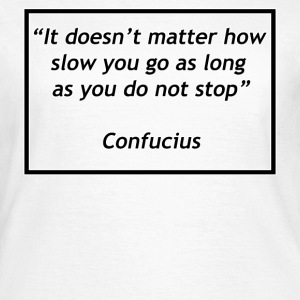 Don't Stop - Vrouwen T-shirt