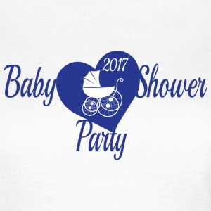 Blaue Babyparty-Party - Frauen T-Shirt