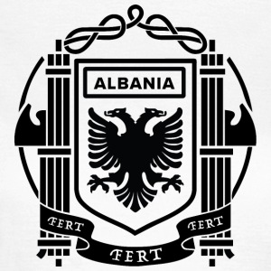 Flagg av Kingdom of Albania 39-43 - T-skjorte for kvinner