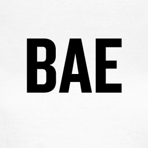 Bae (sort) - Dame-T-shirt