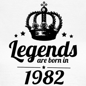 Legends 1982 - T-shirt dam
