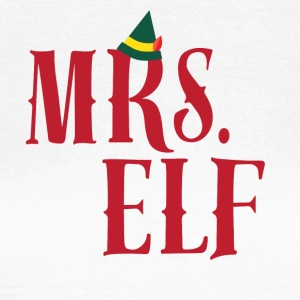 CHRISTMAS -ELF - MOM - Vrouwen T-shirt
