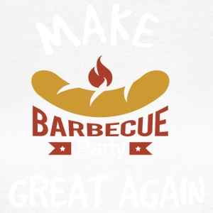 Gör Barbecue Great Again - T-shirt dam
