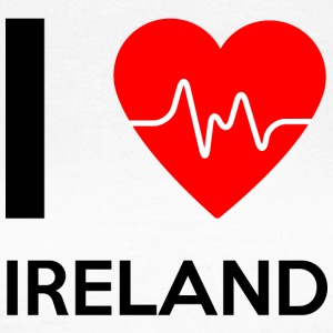I Love Ireland - I love Ireland - Women's T-Shirt