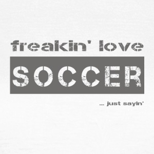 love SOCCER - dark T-Shirt - Women's T-Shirt