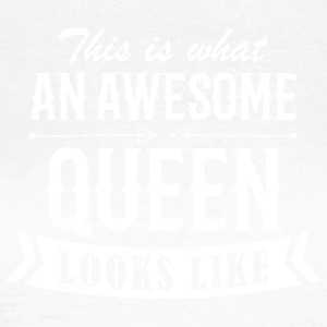 Awesome Queen - T-skjorte for kvinner