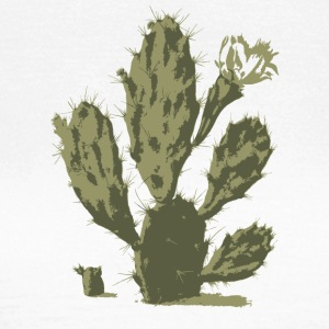 Pear Cactus in Bloom - Women's T-Shirt
